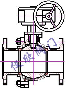 球閥結構圖