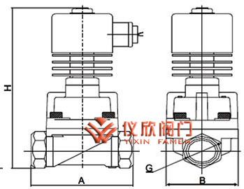 不锈钢高温电磁阀 不锈钢高温电磁阀结构图