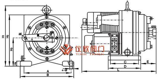 dkj电动执行器接线图