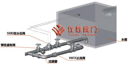 该阀保养简单,灵活耐用,液位控制准确度高,水位不受水压干扰且关闭图片